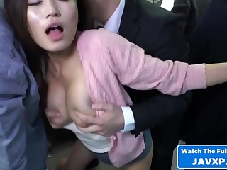 Asian Mommy Heavens The Public Train - Hot Mating