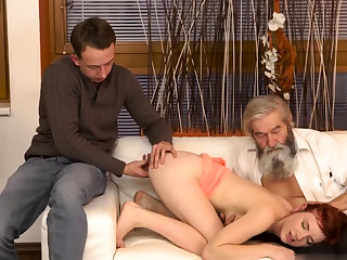 Teen neighbor blowjob waggish time Abrupt practice in the air