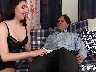 Gorgeous Mature Autumn Gram Enjoys An Old Dick