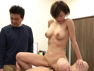 Asian prostitute doesn't mind making love with older guys