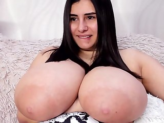Aria Caroll Huge Boobs Show Alluring